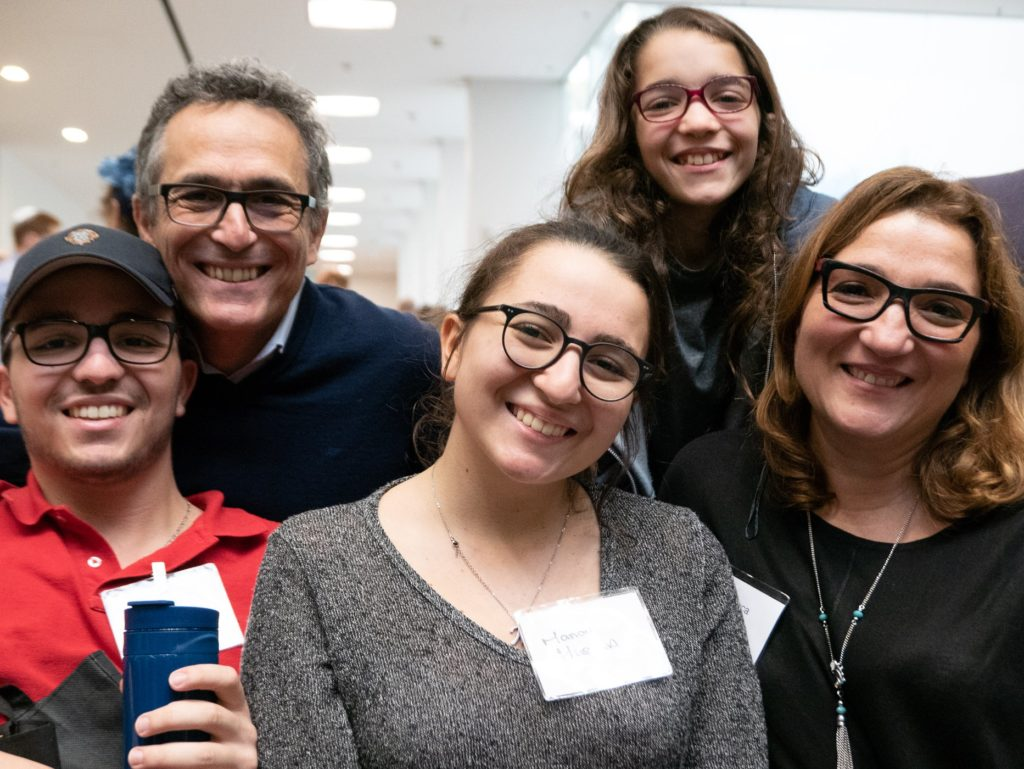 Attendees at Limmud 2018